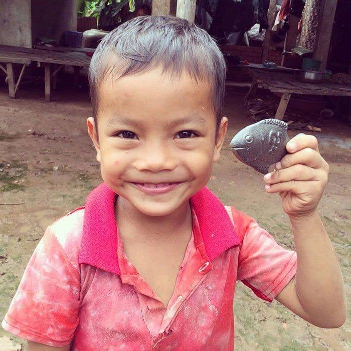Iron Fish And Boy