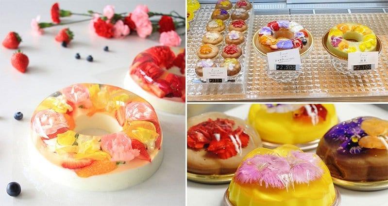Japanese Floral Desserts