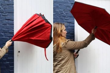Kazbrella Inside Out Umbrella