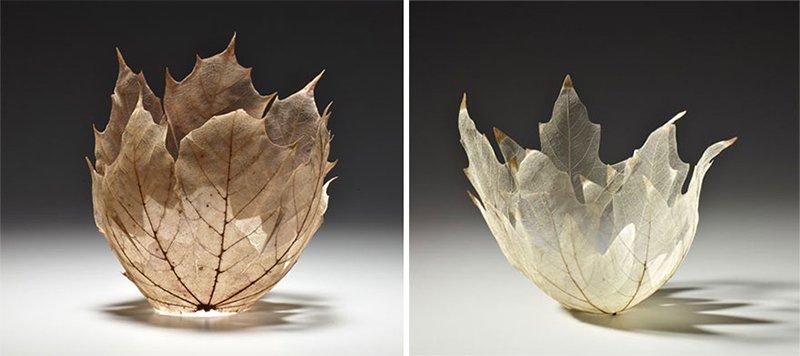 Leaf Bowl Creation