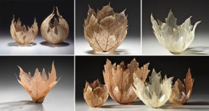 Leaf Skeleton Bowls