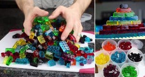 Learn How To Make Gummy Candy Lego