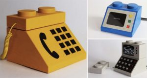 Life-Size Working Models Lego Computer Consoles