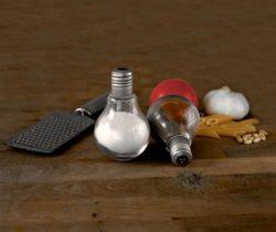 Light Bulb Salt And Pepper Shakers