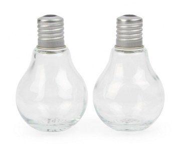 Light Bulb Salt And Pepper Shakers empty