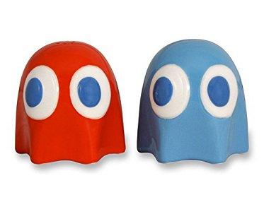 Pac Man Ghost Salt And Pepper Pots