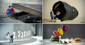 Photographer Arranges Miniature Lego Adventures
