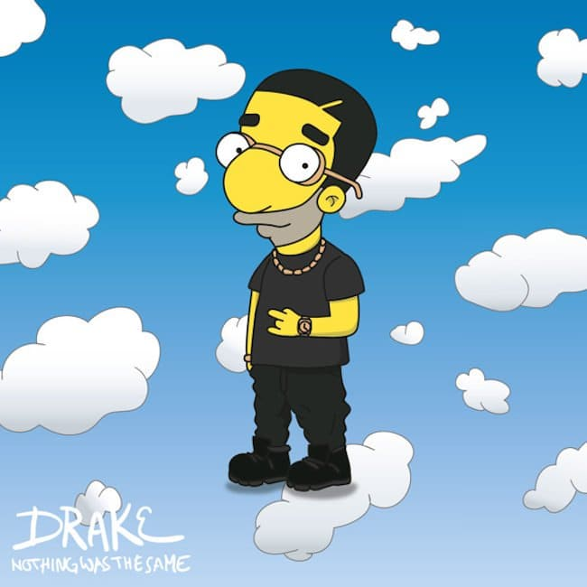 Popstars-As-Iconic-Cartoon-Characters-drake