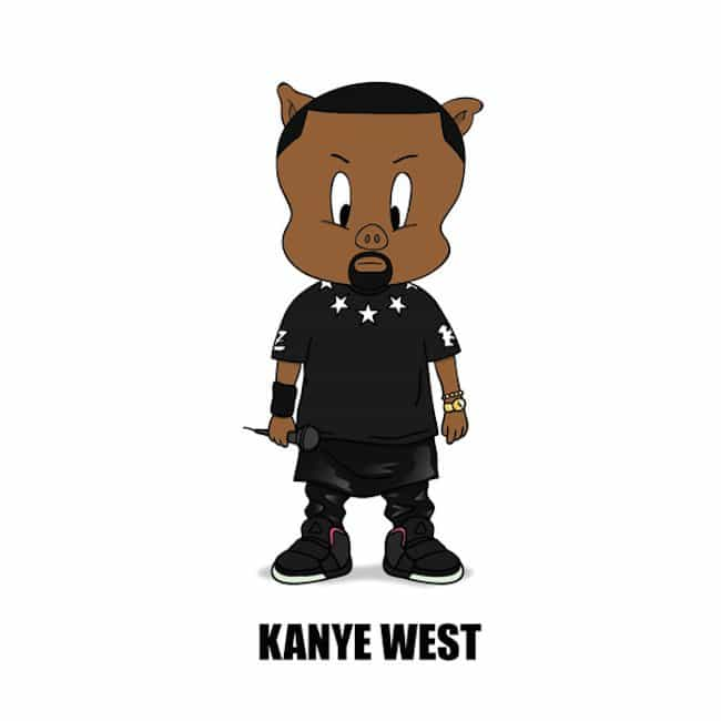 Popstars-As-Iconic-Cartoon-Characters-kanye