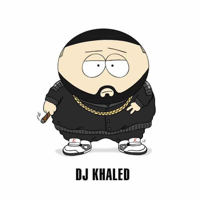 Popstars-As-Iconic-Cartoon-Characters-khaled