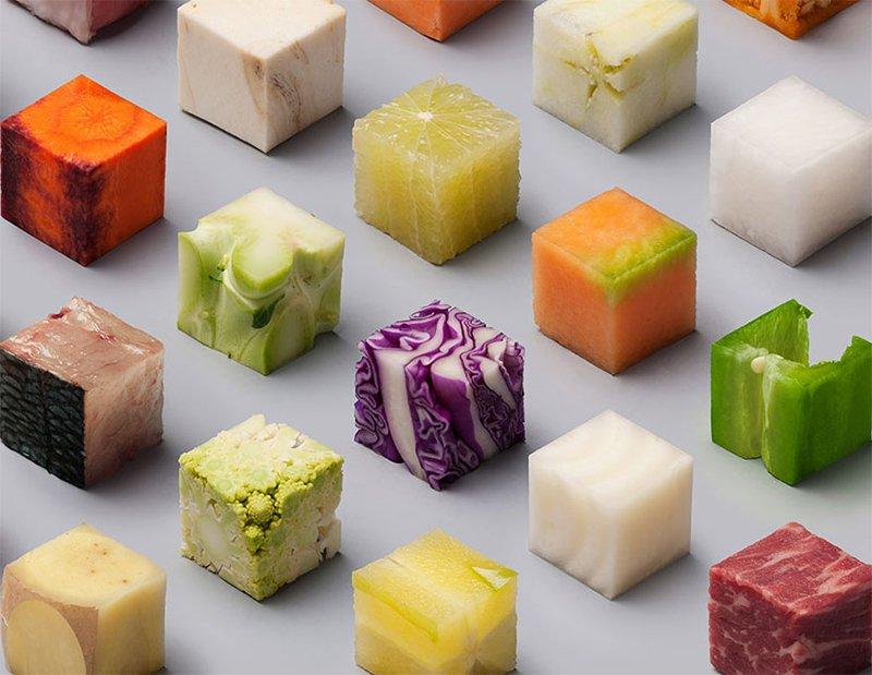 Raw Cubes