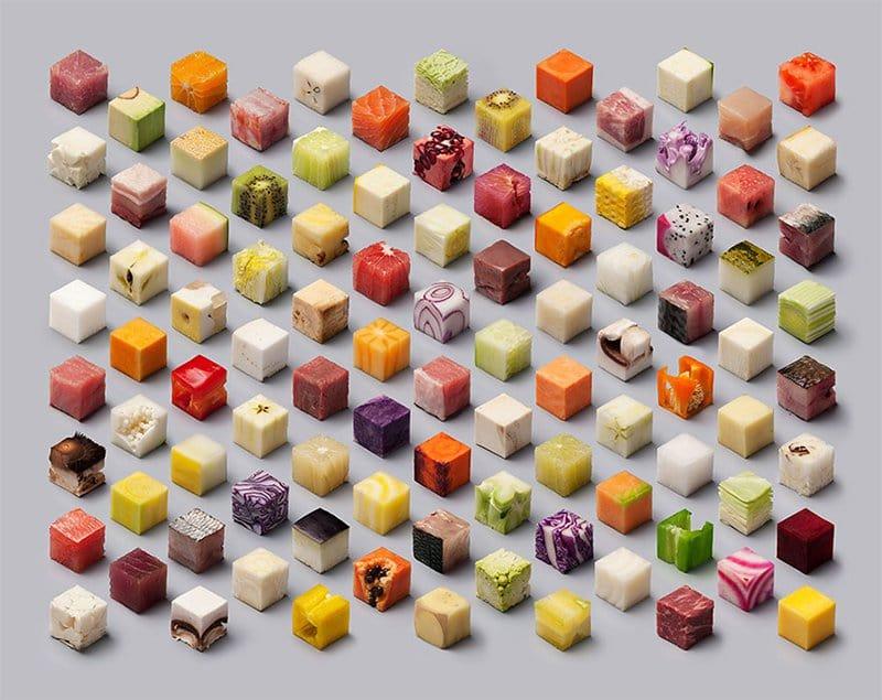Raw Food Cubes