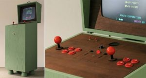 Retro-Style Gaming Cabinet