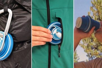 Reuseable Collapsible Bottle