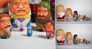 Robin Williams Nesting Dolls