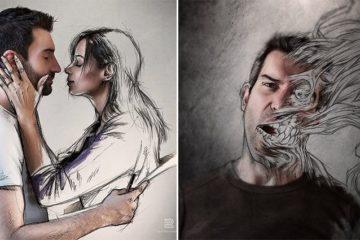 Sebastien Del Grosso Sketch With Photography