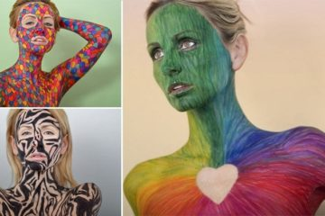 Sharpie Drawings Human Canvas