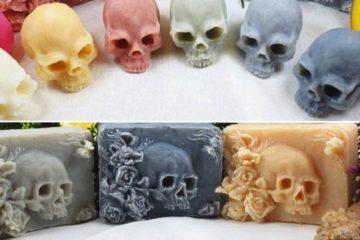 Skull Shaped Soaps