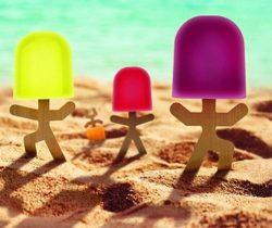 Stick Men Popsicle Molds