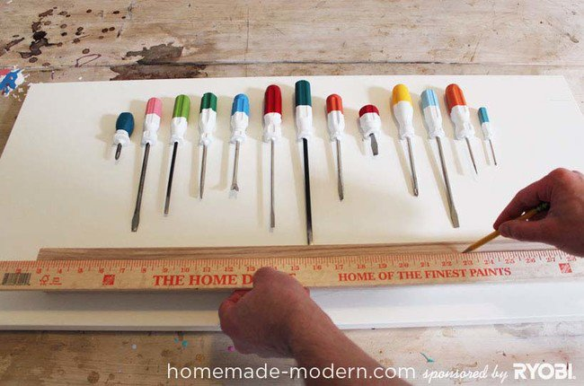 Ben Uyeda Used Old Screwdrivers To Make An Awesome