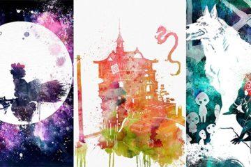 Studio Ghibli Watercolors
