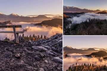 Sunrise At Slovenia's Lake Bled