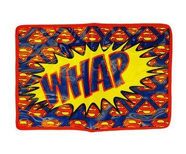 Superman Diaper Bag change mat