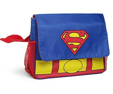 Superman Diaper Bag messenger