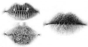 The 'Lip' Art Of Christo Dagorov
