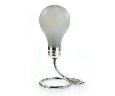 USB light bulb laptop