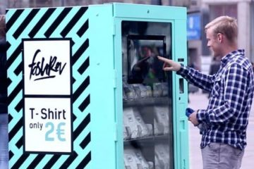 Vending Machine Sold T Shirts For 2 Euro