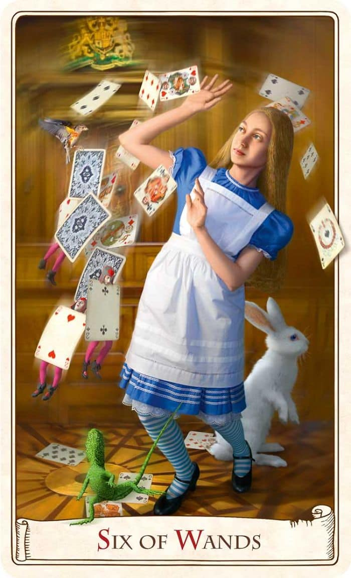 These Alice In Wonderland Tarot Cards Celebrate The 150th