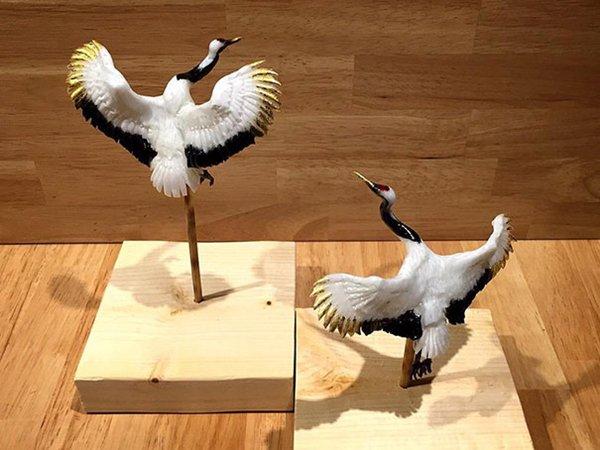 amezaiku-crane
