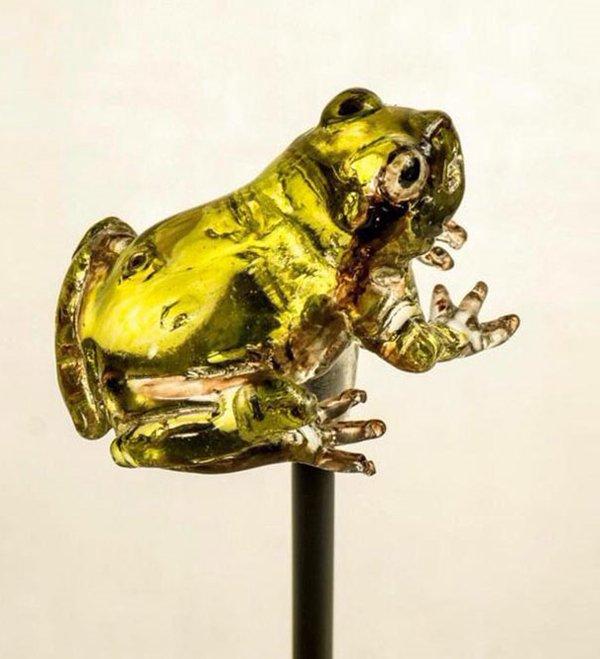 amezaiku-frog