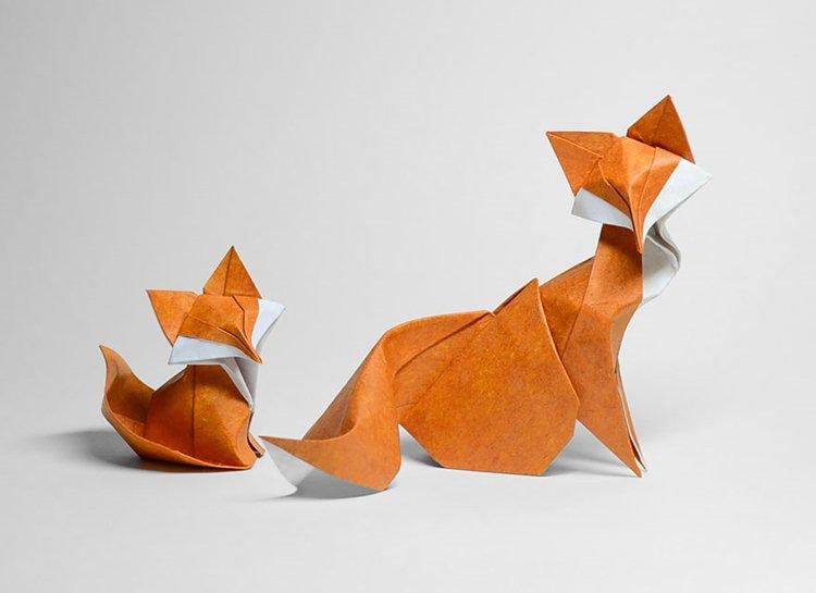 animal-origami-hoang-tien-quyet-foxes