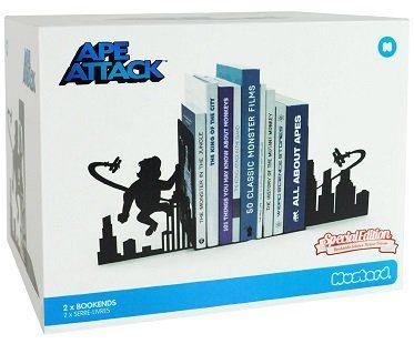 ape attack bookends box