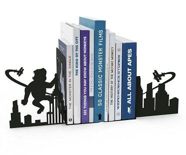 ape attack bookends metal
