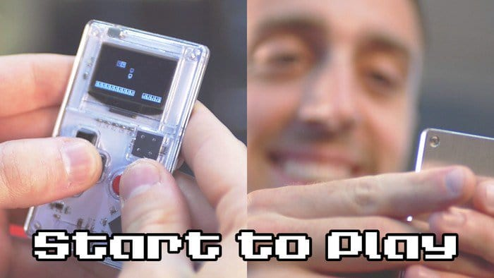 arduboy play man