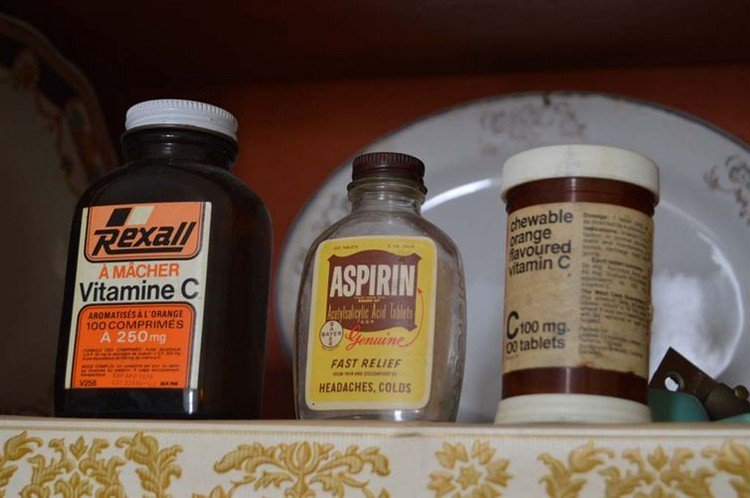 asprin vitamins
