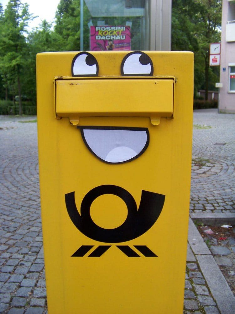 awesome letter box