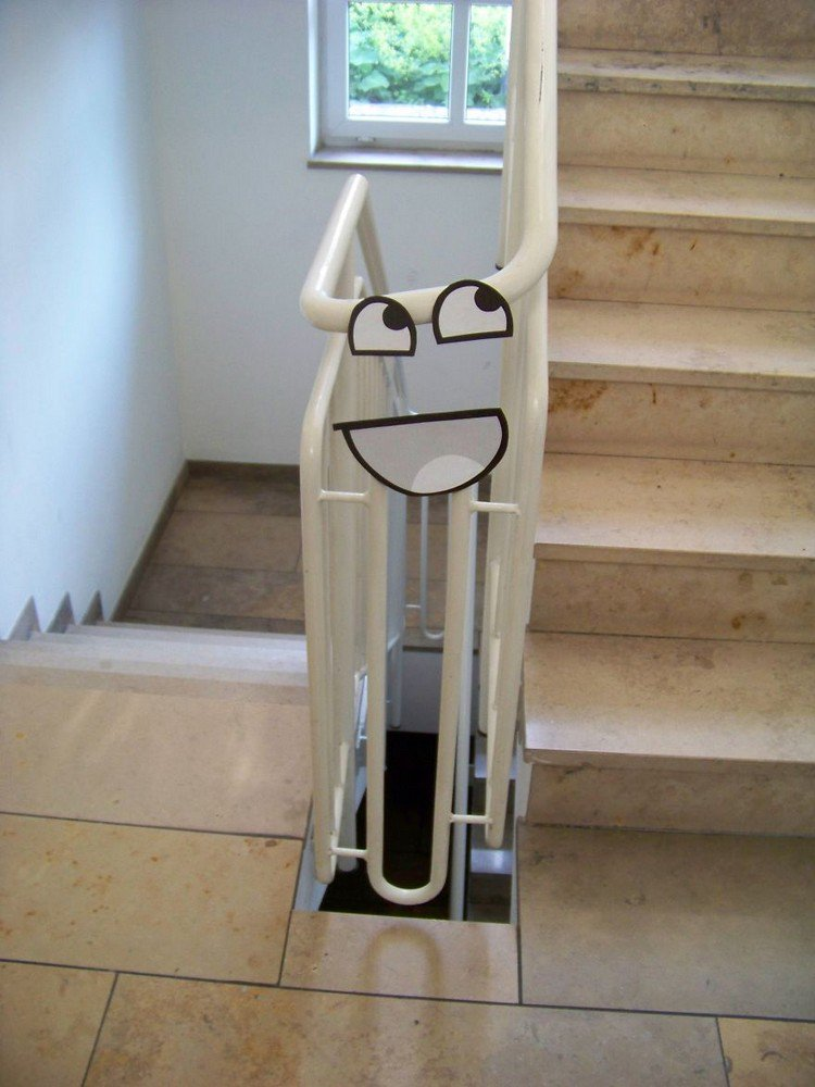 awesome railing
