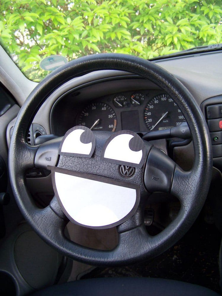awesome steering wheel