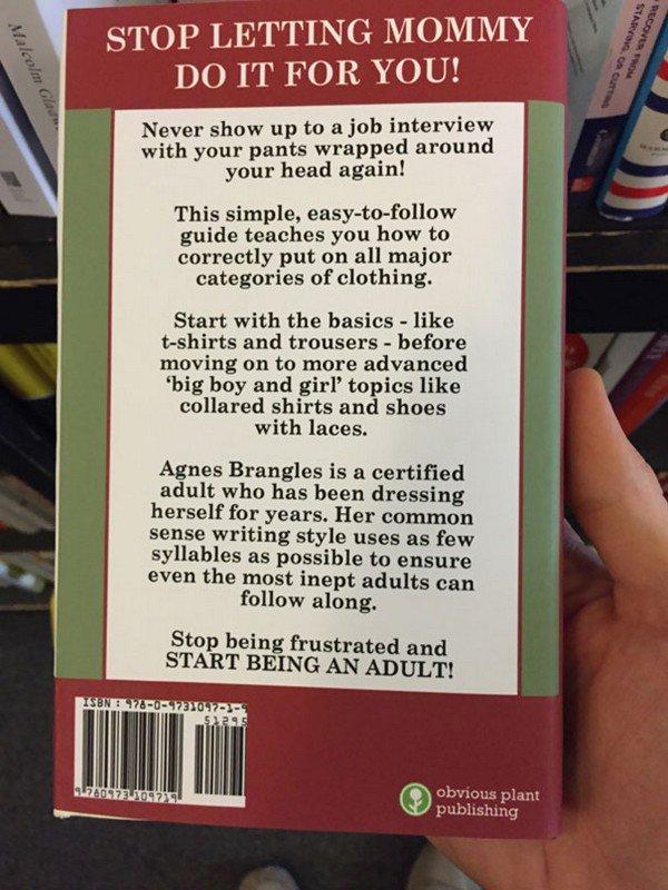 back dress book