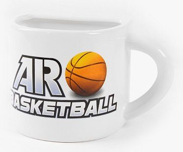 basketball app mug coffee