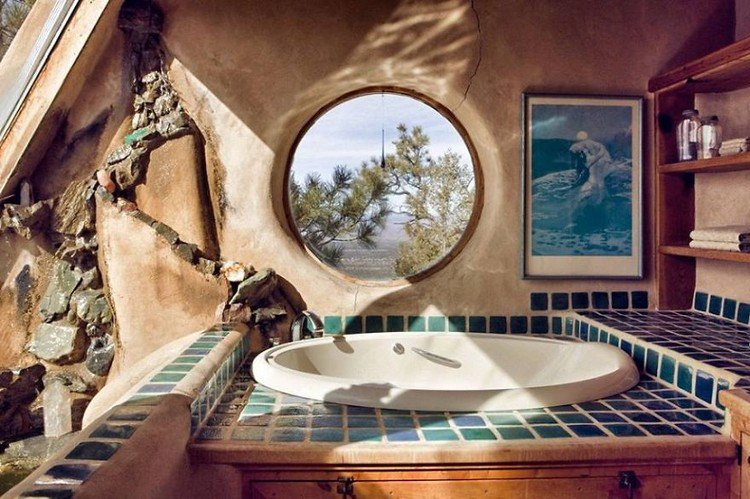 bath earthship