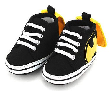Batman Baby Shoes With Cape