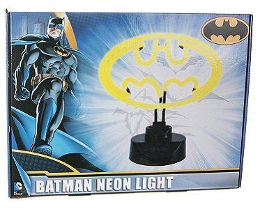 batman neon light box