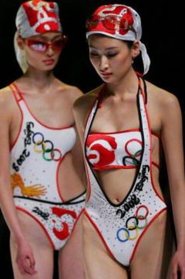 beijing olympics swimsuit
