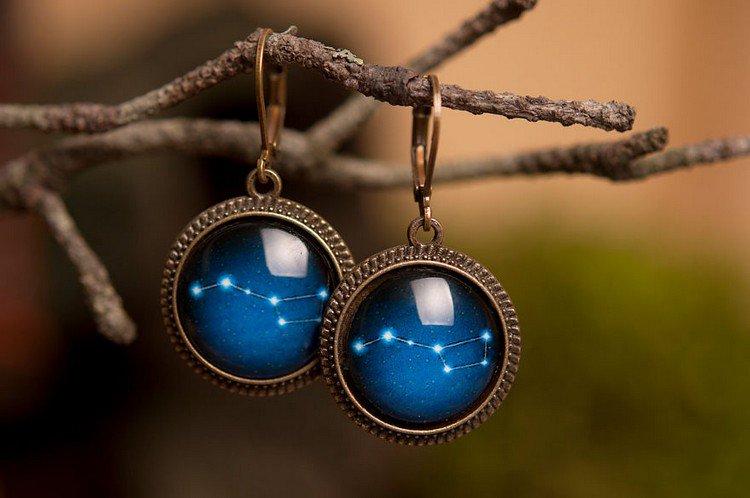 big dipper earrings