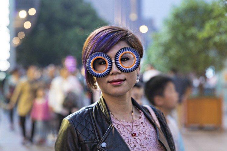 biz eyes eyewear colorful girl